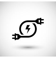 Electricity icon symbol vector
