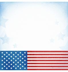 USA patriotic background vector image