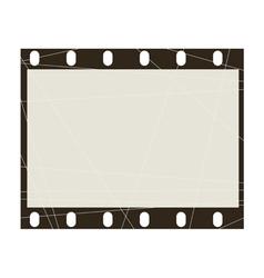 frame of film vector image