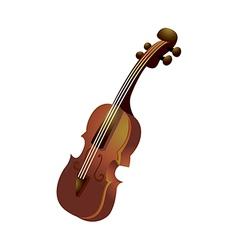 Icon violin vector