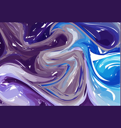 luxury blue and purple marble background with vector image