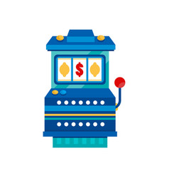 retro arcade casino slot machine vector image