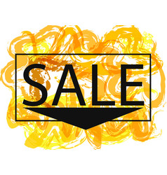 season spring and summer sale off sign over grunge vector image