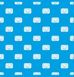 Tonometer pattern seamless blue vector