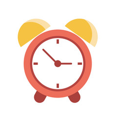 clock time alarm hour vector image vector image