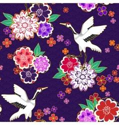 Decorative kimono pattern vector image