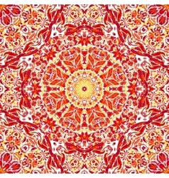 seamless pattern with bright floral vector image vector image