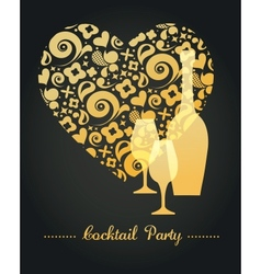 Party invitation vector image