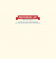 Background style for independence day celebration vector