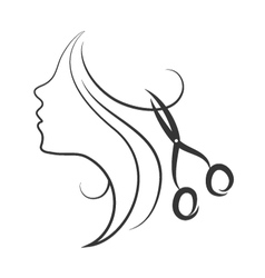 Emblem beauty salon vector