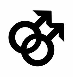 Gay symbol vector