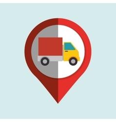 location marker design vector image