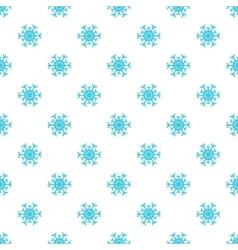 Snowflake pattern cartoon style vector image