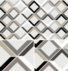 Vintage Chevron Diamond seamless pattern vector