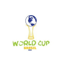 World cup brasil 2014 vector
