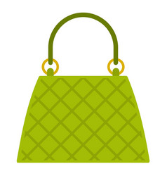 beautiful bag icon isolated vector image vector image
