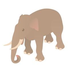 Elephant icon cartoon style vector image vector image