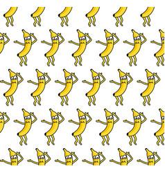 Banana party vector