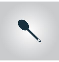 spoon icon vector image vector image