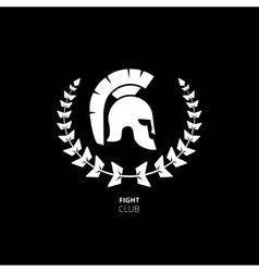 Greek or Roman Helmet vector image vector image