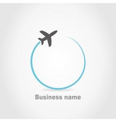 Plane2 vector image vector image