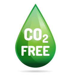 Eco co2 free vector