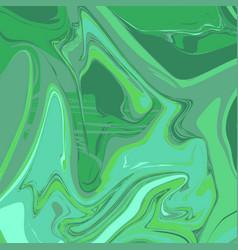 Liquid seagreen marble background vector