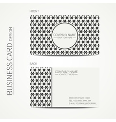 Vintage creative simple geometrical hipster vector