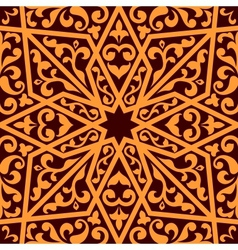Islamic or arabic seamless pattern vector image vector image
