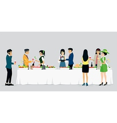 Catering hotels vector