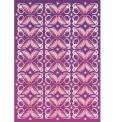 floral textile pattern vector image