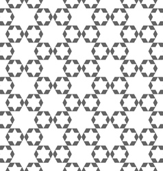 Abstract monochrome arabic seamless pattern with vector