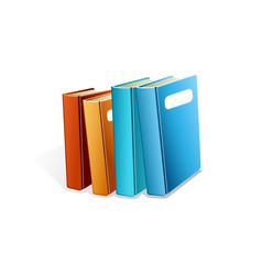 book realistic vector image