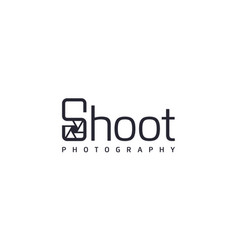 Creative and professional shoot for photography vector