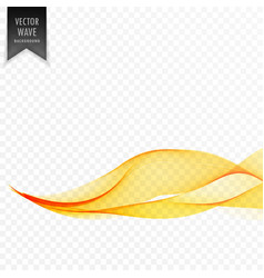 eleant yellow wave abstract background vector image