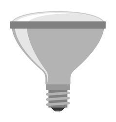 Lamp light bulb vector image