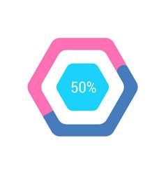 loading bar logotype vector image