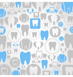 Tooth a background vector image