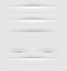 Webpage Dividers vector