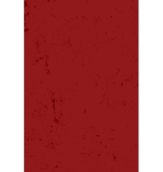 Distress Red Texture vector image vector image
