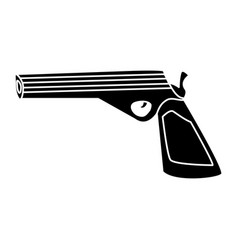 handgun weapon isolated vector image