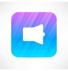 megaphone icon vector image