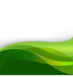 Green Nature Abstract Background vector image