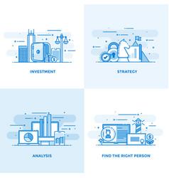 flat line designed concepts 7 vector image