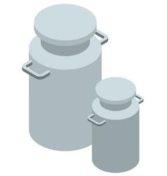 3d design for milk tanks vector