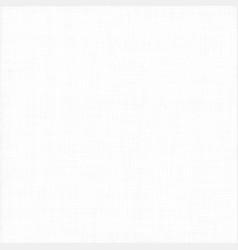 Abstract white fabric tissue texture background vector