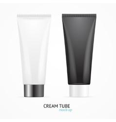 Cream Tube Mock Up Set vector image vector image