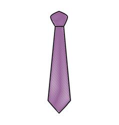 fashion executive tie vector image