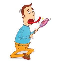 Lollipop licker vector