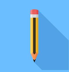 pencil flat design vector image